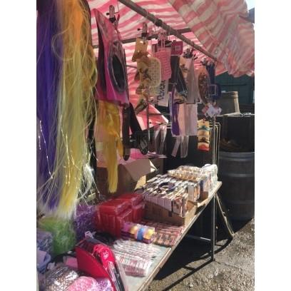 Health & Beauty Market Stall Dressing