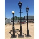 10ft High Cannon Lamppost