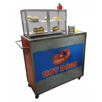 Metal Hot Dog cart
