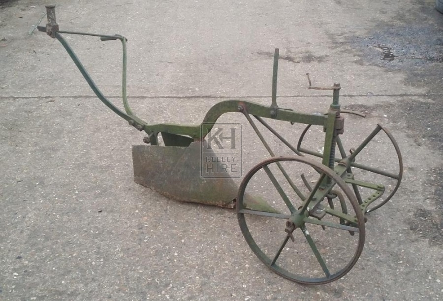 French iron plough