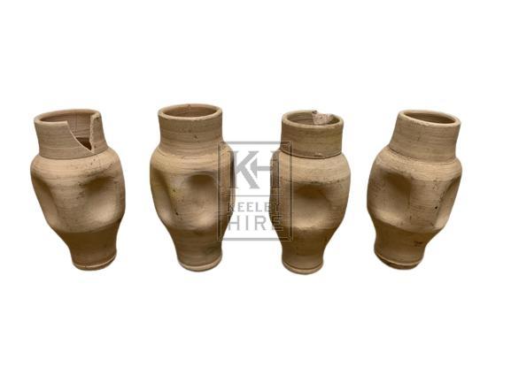Ceramic Pinch Sided Vessel
