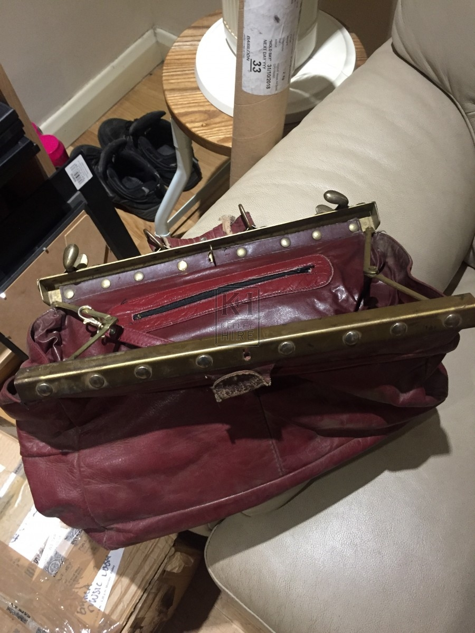 Red Gladstone Bag
