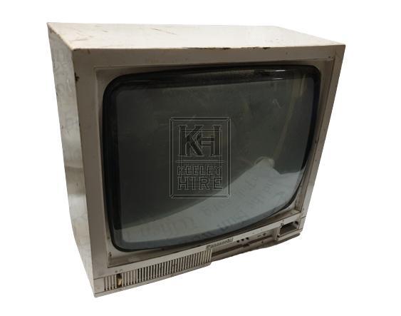 80s square television