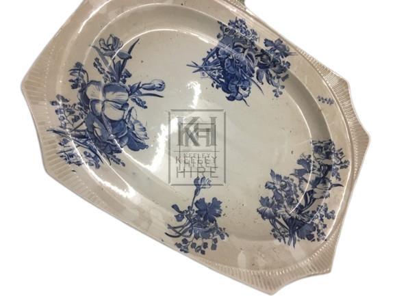 Rectangular China Serving Plate