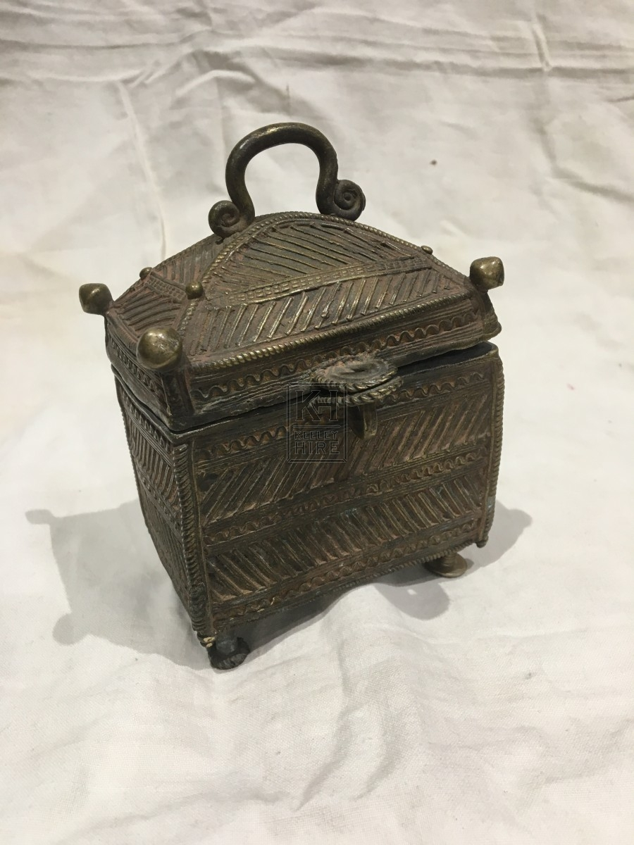 Very Small Brass Chest