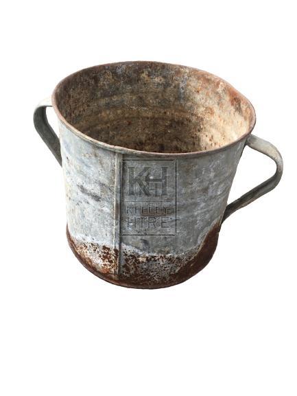 Rusty Galvanised Bucket