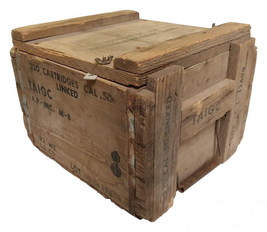 220 Cartridges Cal 50 crate