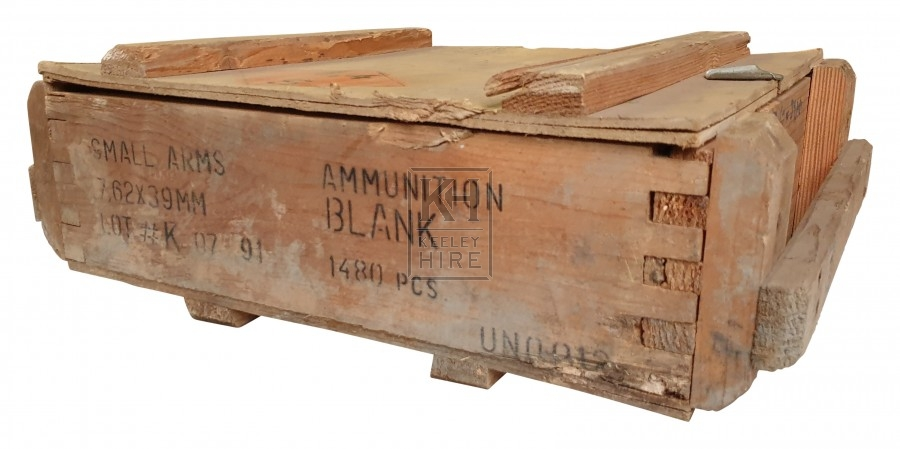 Small arms ammunition crate