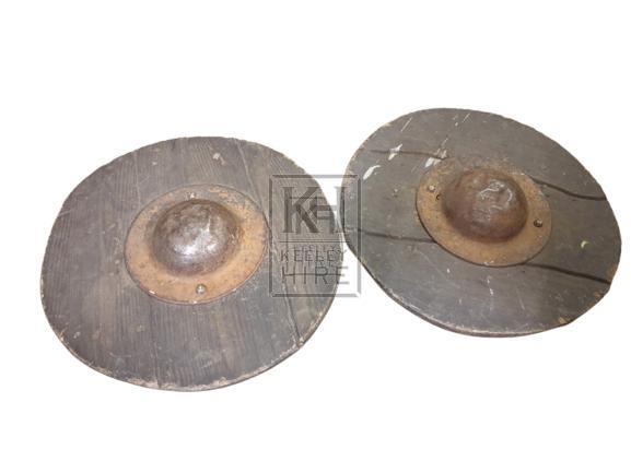Wood & iron shield
