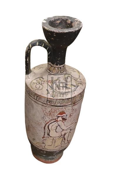 Fibreglass Greek urn