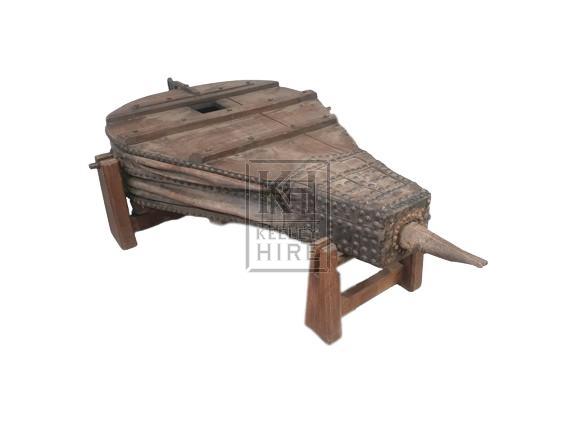 Large studded blacksmiths bellows