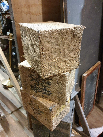 Small rattan box bale