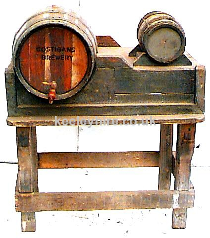 Counter Stand with Large & Small Barrel