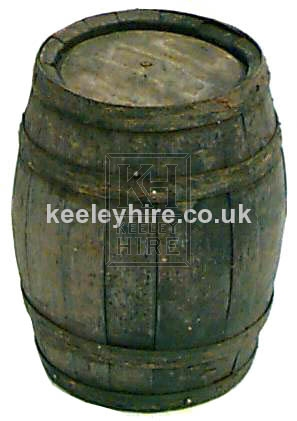 Assorted small barrels