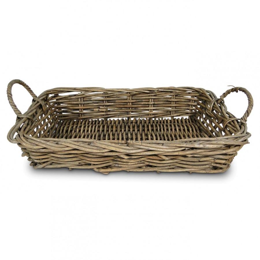 Shallow Rectangle Basket