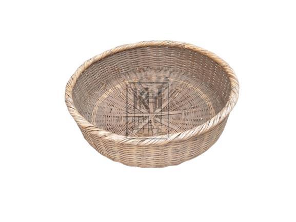 Bowl Shaped Woven Bamboo Basket