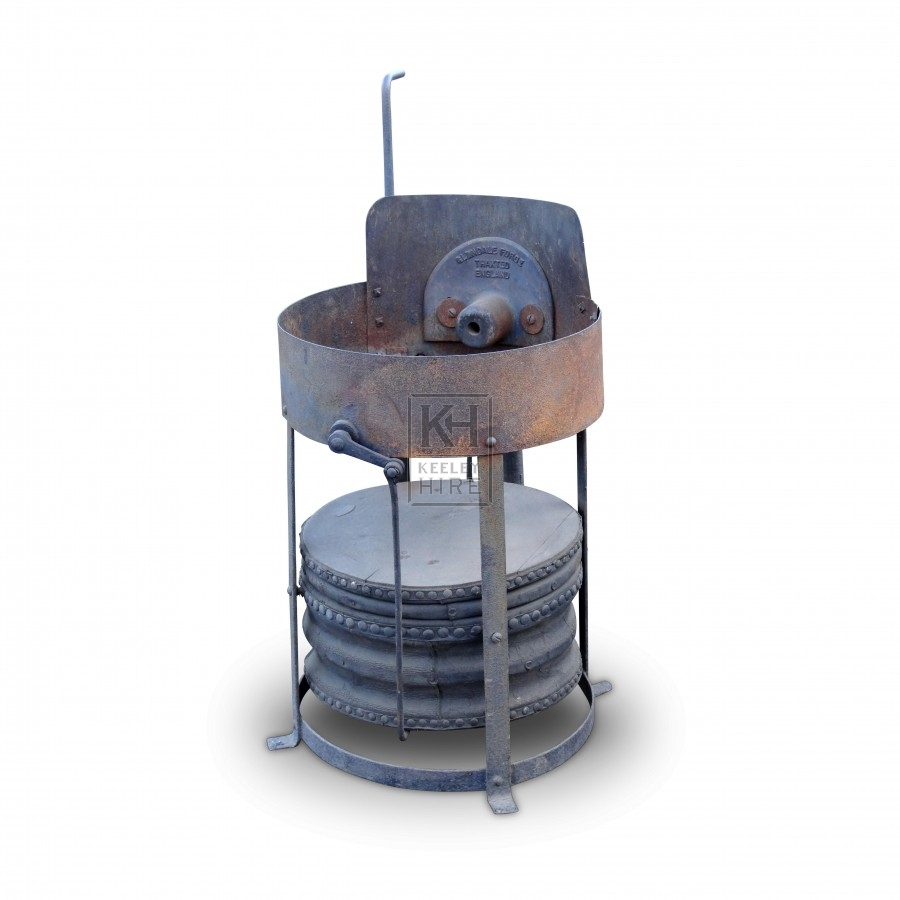 Blacksmiths Round Forge With Bellows