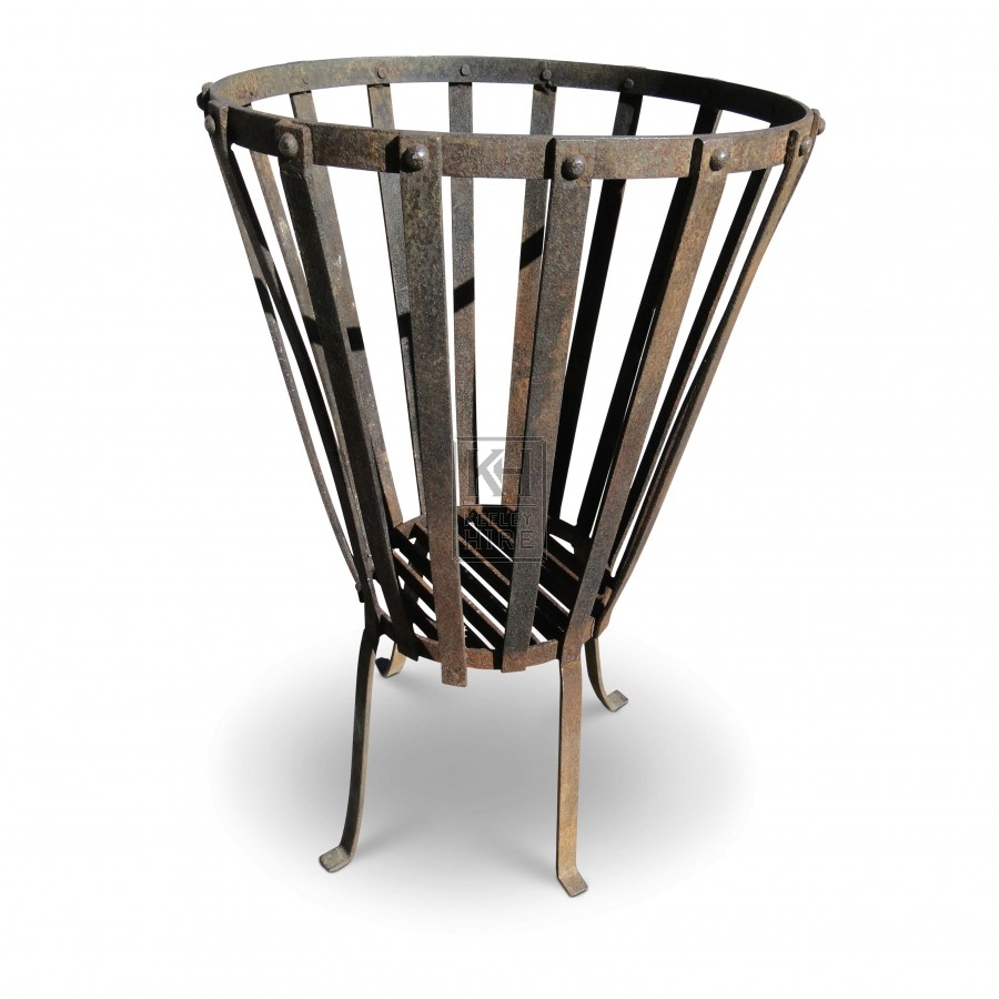 Basket Brazier with Legs