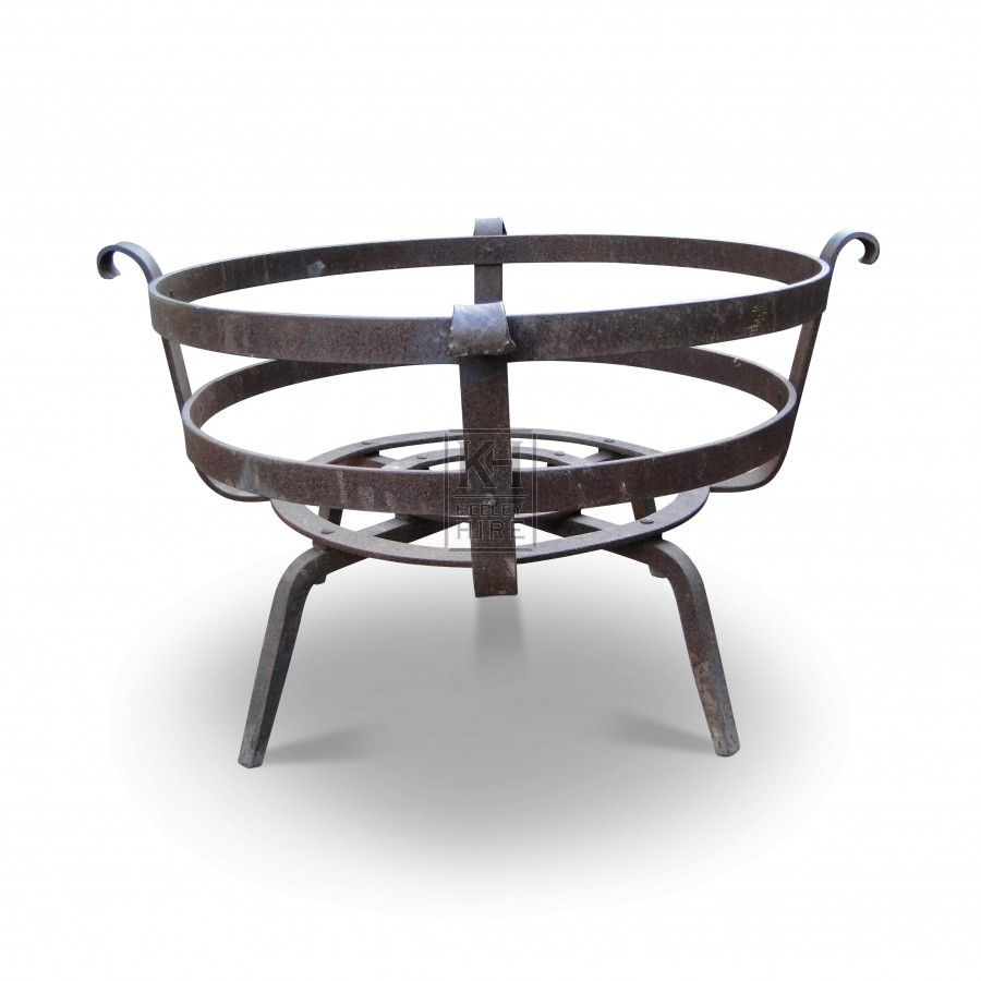 Large Low Iron Brazier