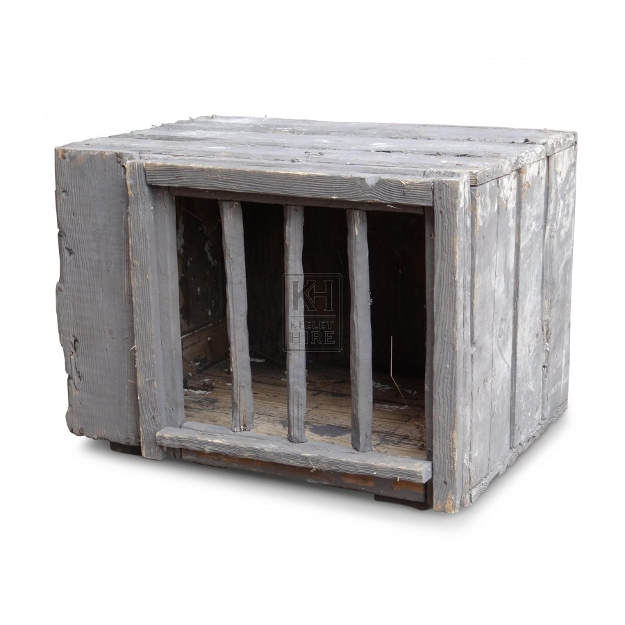 Wooden Box Cage