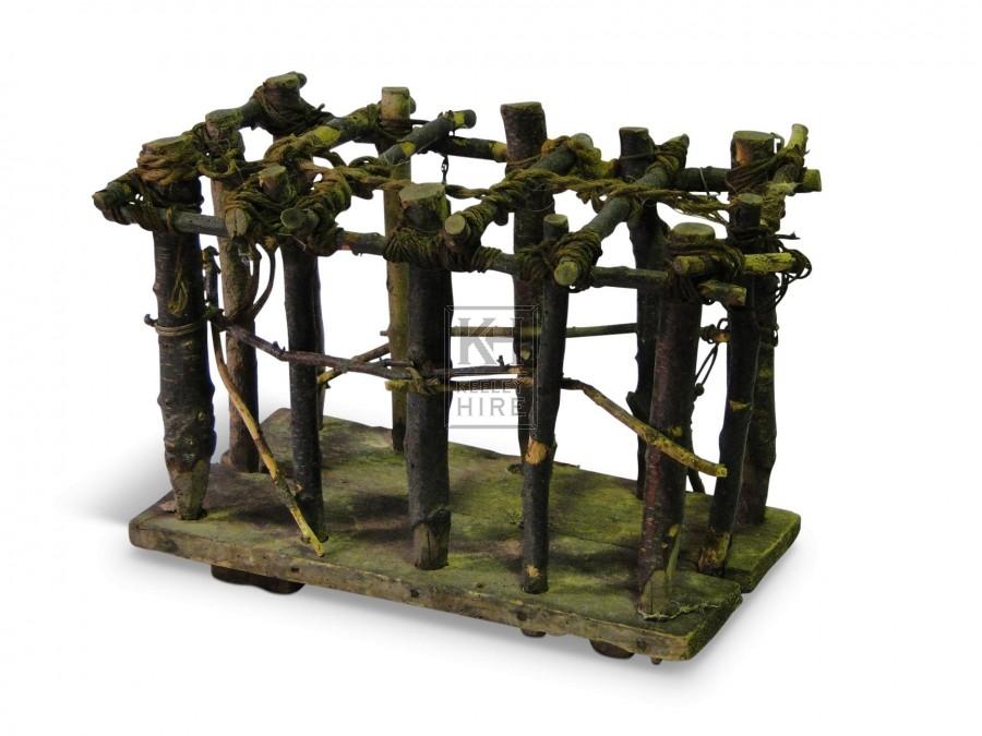 Rough Stick Cage