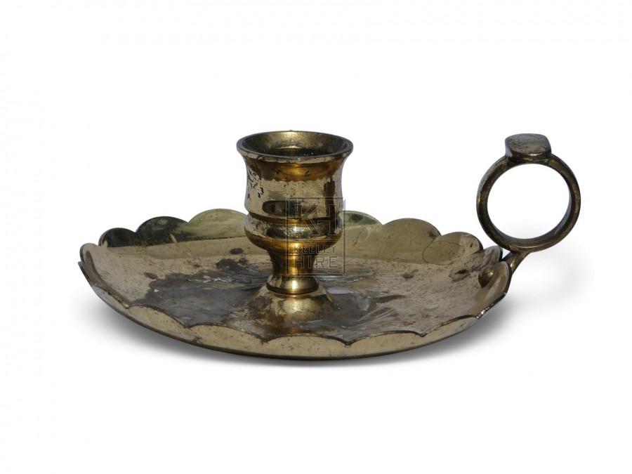 Brass Candleholder #1