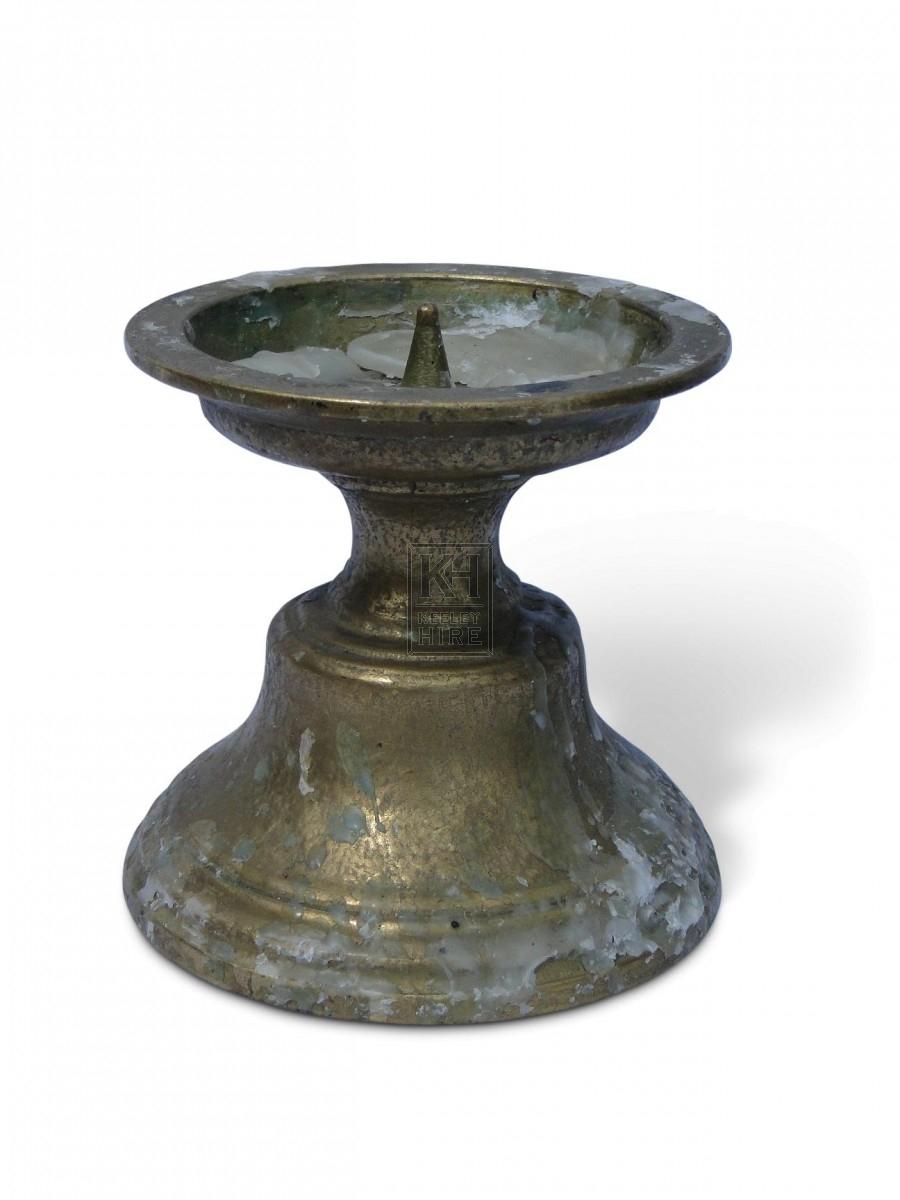 Brass Candleholder #2