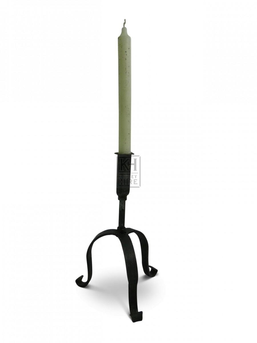 Iron candleholder #2