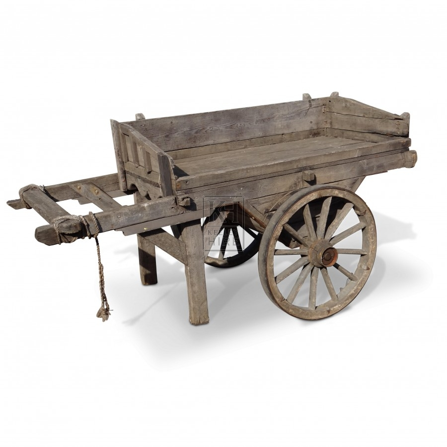 Drop Sided Traders Display Cart