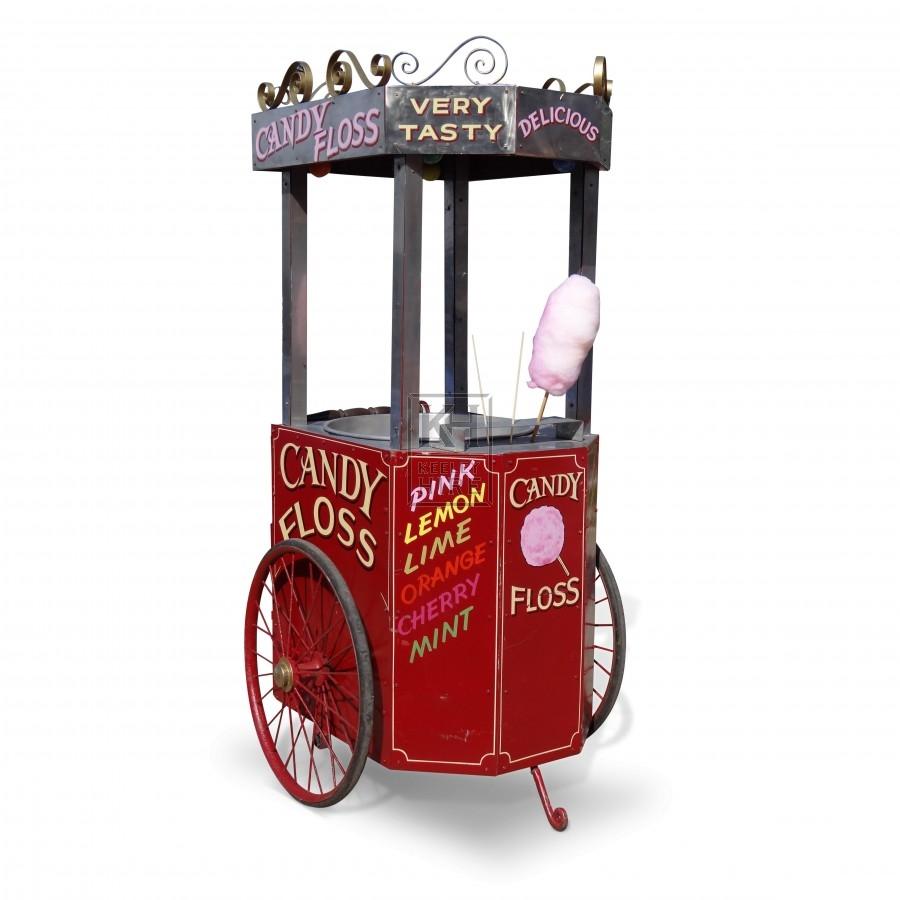 Candy Floss Handcart