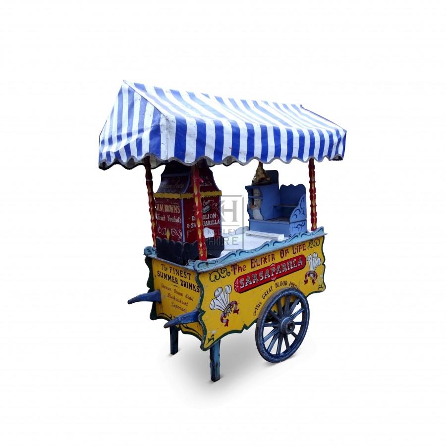 Sarsaparilla Handcart