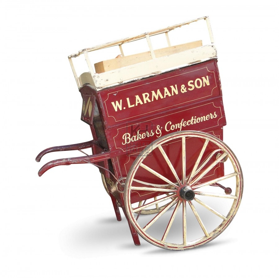 Larman Bakers Hand Cart