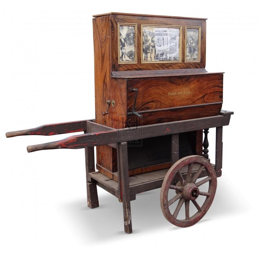 Barrel Organ on Hand Cart