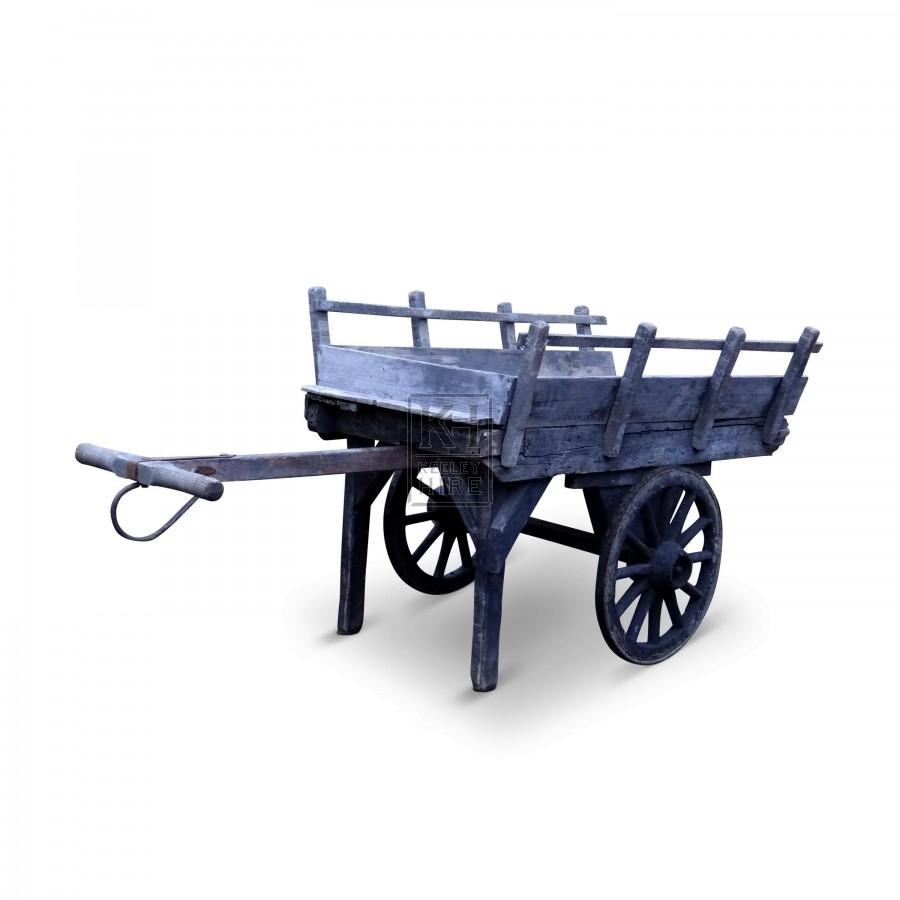Grey T-Handle Hand Cart