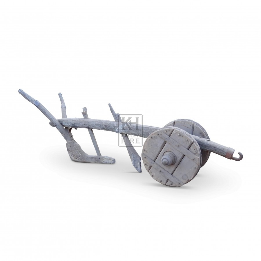 Early wood medieval plough