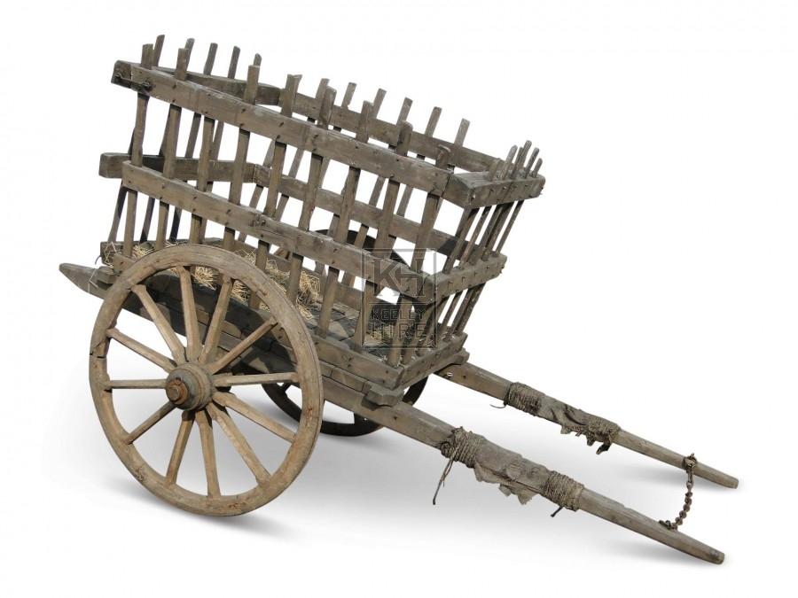 Slatted Horse Cart