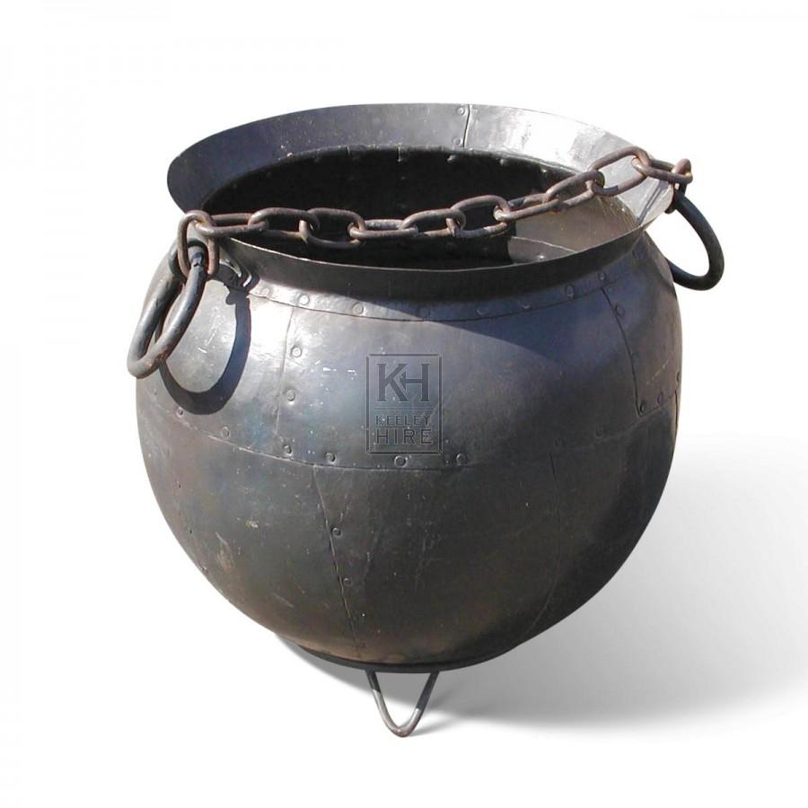 Cauldron With 2 Ring Handles