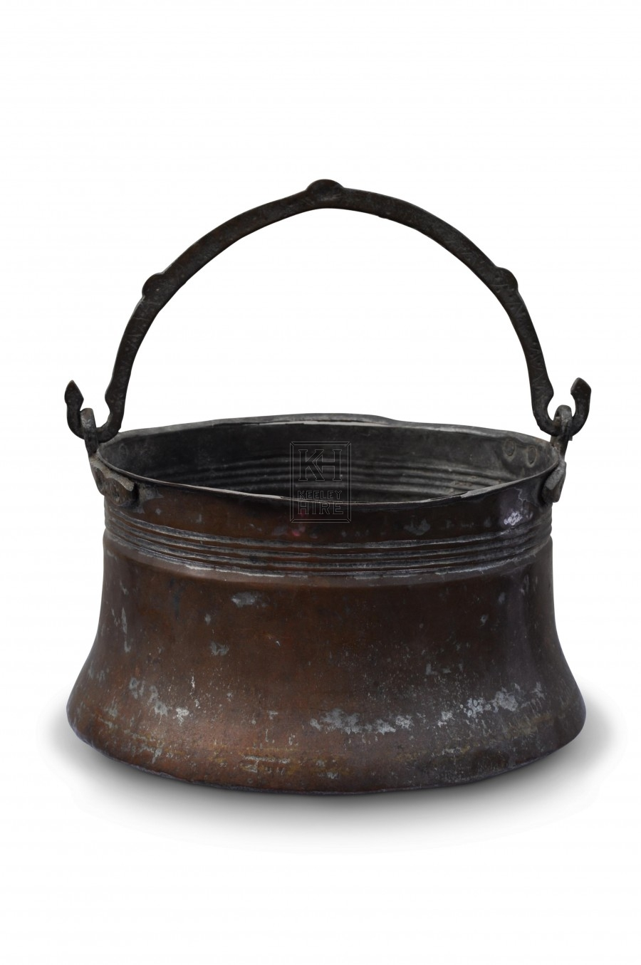 Copper Cooking Pot with convex sides