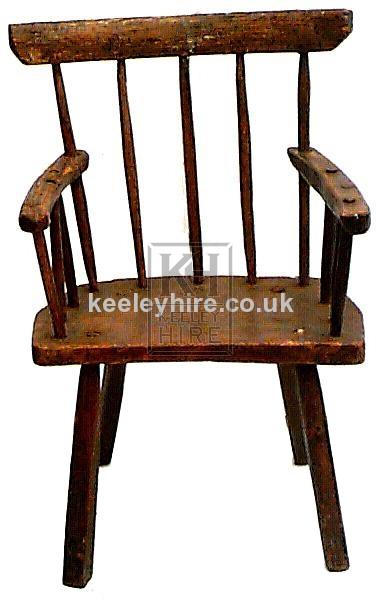 Stick Back Arm Chair