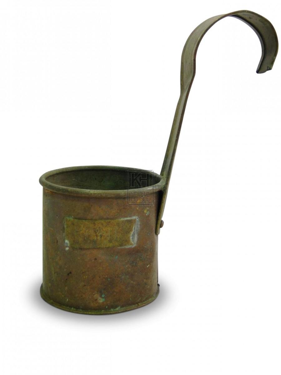 Copper Half Pint Measure