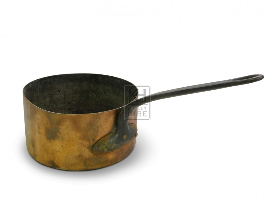 Medium Copper Saucepan