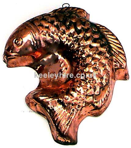 Copper Fish Mould