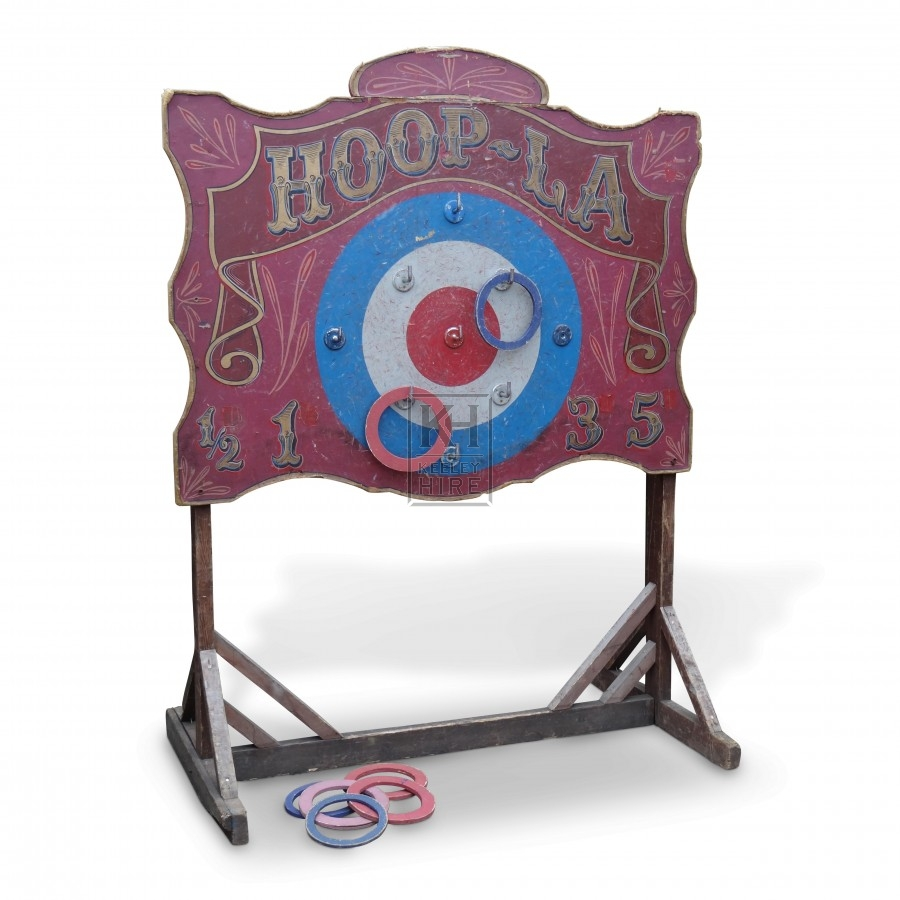 Hoop-La Stand with Hoops