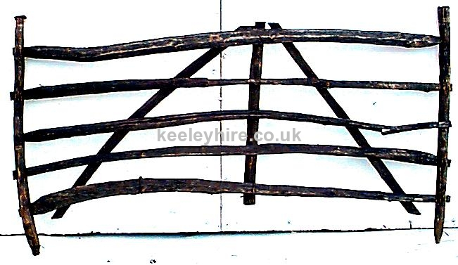 Rough Wooden Fencing