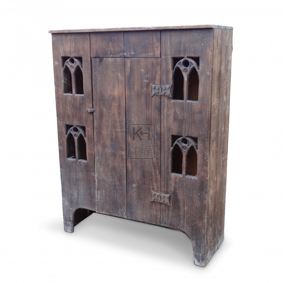 Arched cupboard with Door