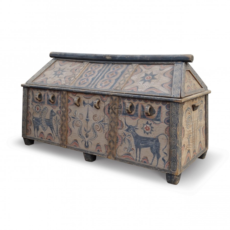 Greek Large Coffer Chest