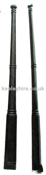 12ft Fibreglass Half Lamp Posts