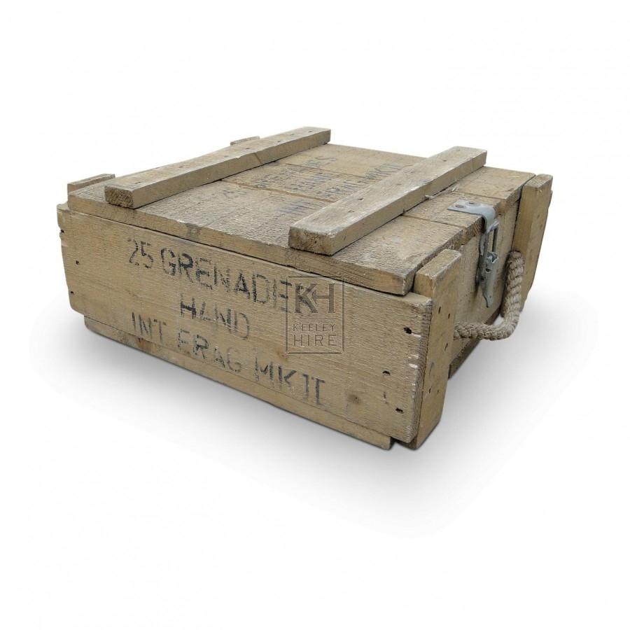 Military Box - Grenades