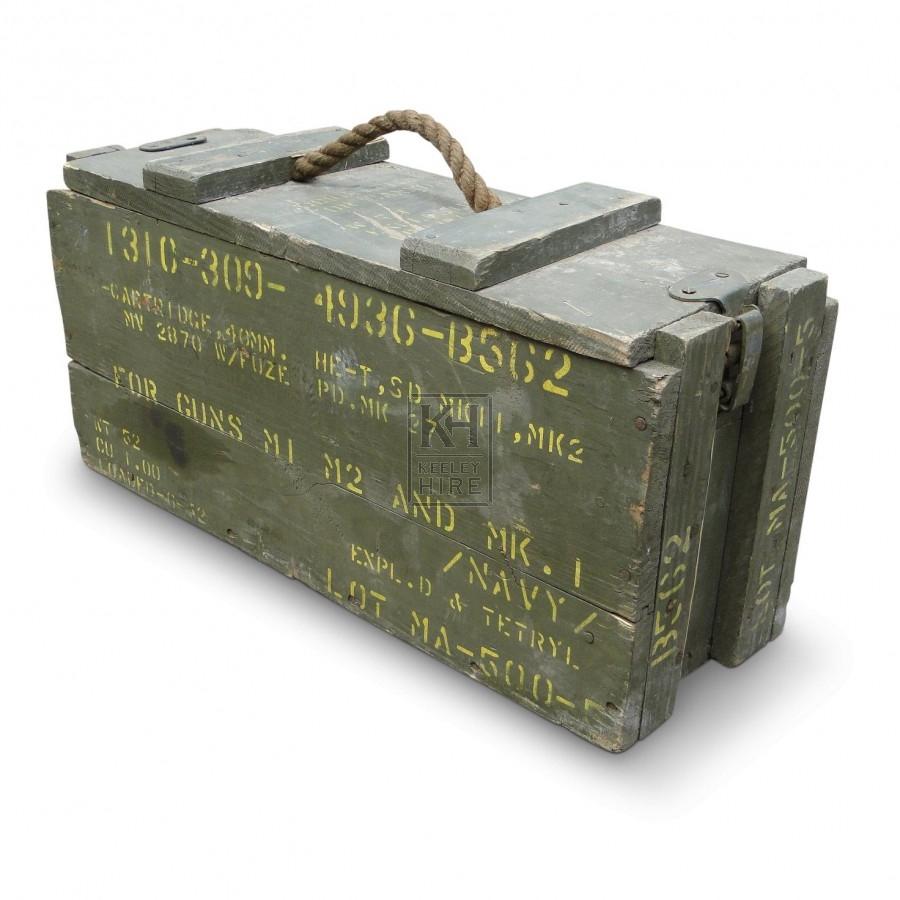40mm Cartridge Ammo Box
