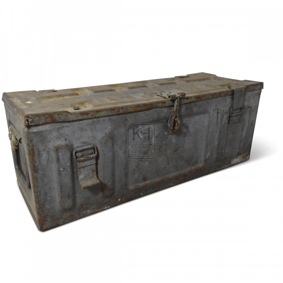 Rectangle Metal Ammunition Box